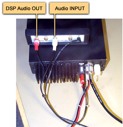 in my modification however, i simply use the internal speaker to get a  compact set  (no external speaker needed) complete dsp-connection